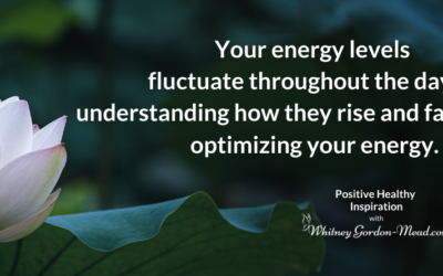 Why Productivity Is the Key to Managing Your Energy (Optimize Your Energy, Part 2)