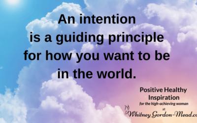 Evoke Energy Through Intention